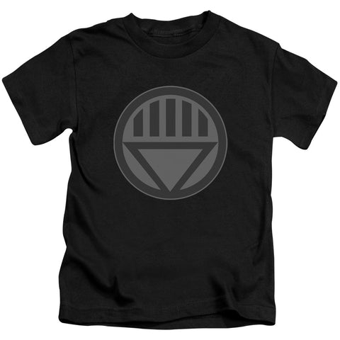 Green Lantern Black Symbol Juvenile 18/1 Cotton SS T