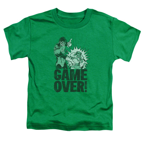 Green Lantern Game Over Toddler 18/1 Cotton SS T