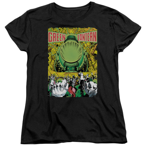 Green Lantern Gl #200 Cover Women's 18/1 Cotton SS T