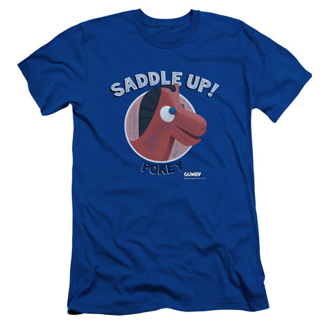 Gumby Saddle Up Men's 30/1 Cotton Slim SS T