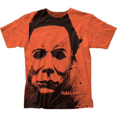 Halloween Splatter Mask big print subway tee - Men's - 65% Poly 35% Cotton