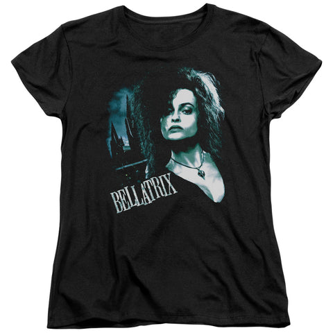 Harry Potter Bellatrix Closeup Women's 18/1 Cotton SS T