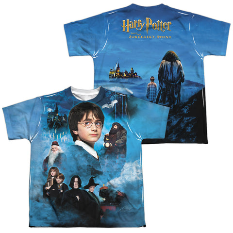 Harry Potter First Year (Front/Back Print) Youth Regular Fit Poly SS T