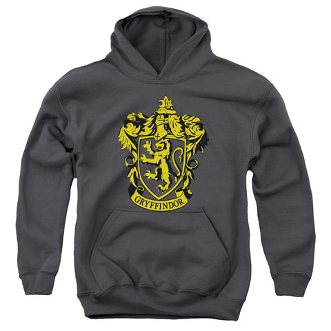 Harry Potter Gryffindor Crest Youth Cotton Poly Pull-Over Hoodie