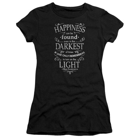 Harry Potter Happiness Junior's 30/1 Cotton Cap-Sleeve T