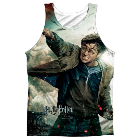 Harry Potter Harry Vs Voldemort Men's Regular Fit Polyester Tank Top
