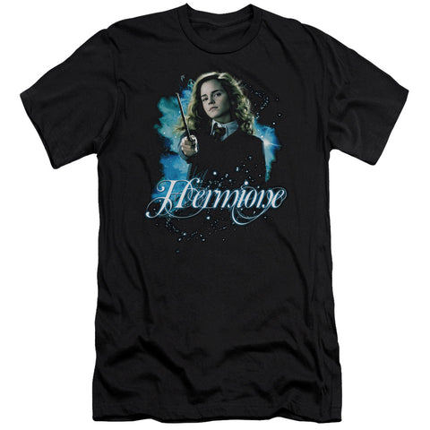 Harry Potter Hermione Ready Men's Ultra-Soft 30/1 Cotton Slim SS T