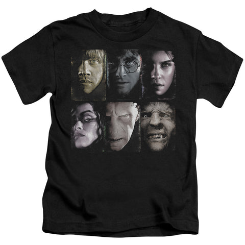 Harry Potter Horizontal Heads Juvenile 18/1 Cotton SS T