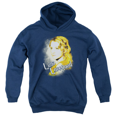 Harry Potter Luna Closeup Youth Cotton Poly Pull-Over Hoodie