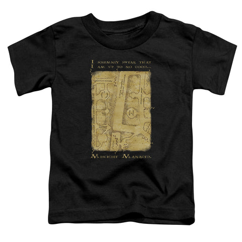 Harry Potter Marauders Map Interior Words Toddler 18/1 Cotton SS T