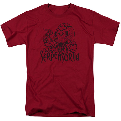 Harry Potter Serpensortia Men's 18/1 Cotton SS T