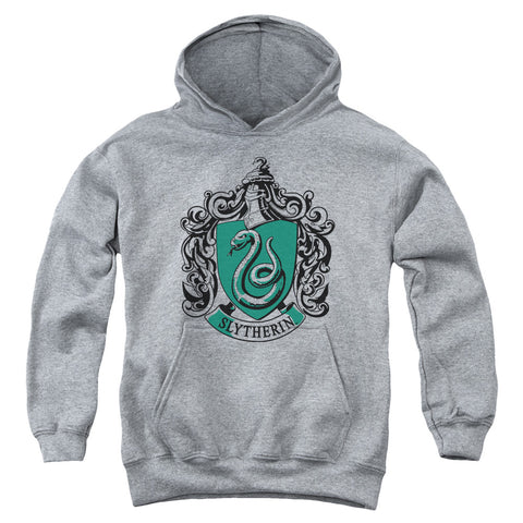 Harry Potter Slytherin Crest Youth Cotton Poly Pull-Over Hoodie