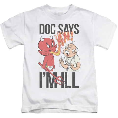 Hot Stuff Doc Says Juvenile 18/1 Cotton SS T