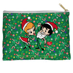 I Love Lucy Holiday Dance Accessory Pouch Spun Polyester straight bottom