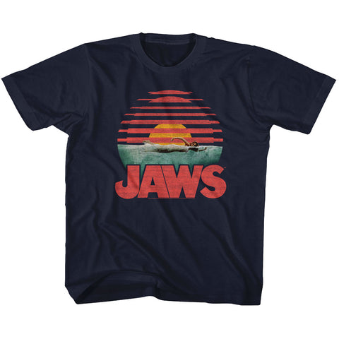 Jaws Special Order Sliced Youth S/S Tshirt