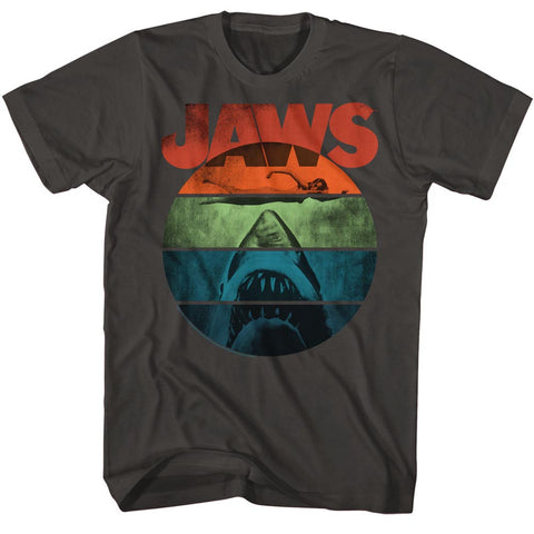 Jaws Special Order Text Arch Adult S/S Tshirt