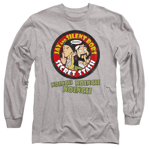Jay And Silent Bob Shhhhh Men's 18/1 Cotton LS T