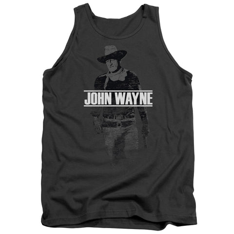 John Wayne Fade Off Men's 18/1 Cotton Tank Top