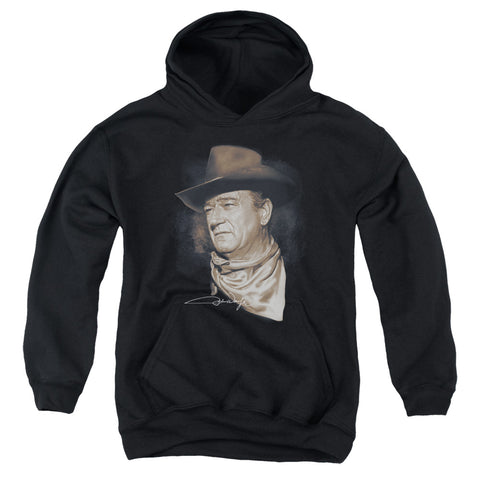 John Wayne The Duke Youth Cotton Poly Pull-Over Hoodie