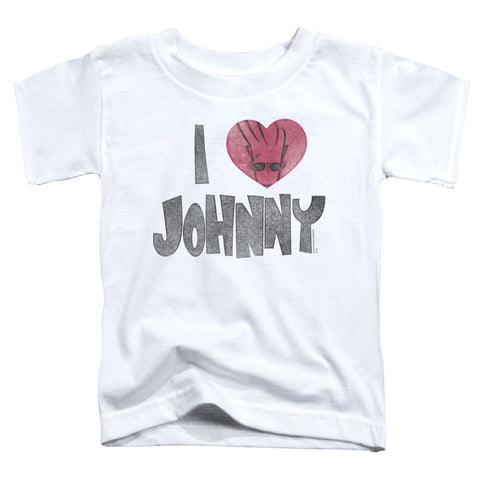 Johnny Bravo I Heart Johnny Toddler 18/1 Cotton SS T