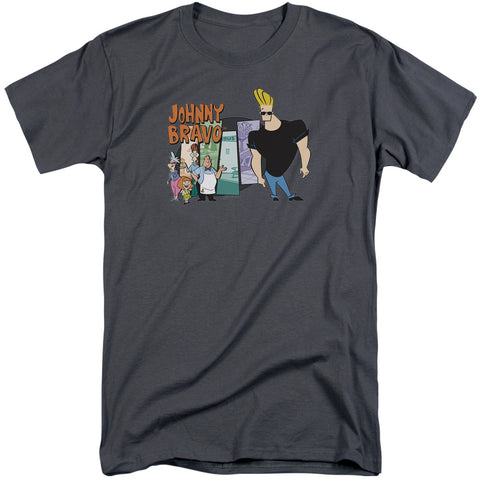 Johnny Bravo Johnny & Friends Men's 18/1 Tall Cotton SS T