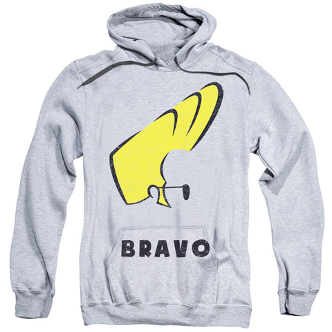 Johnny Bravo Johnny Hair Men's Pull-Over 75 25 Poly Hoodie