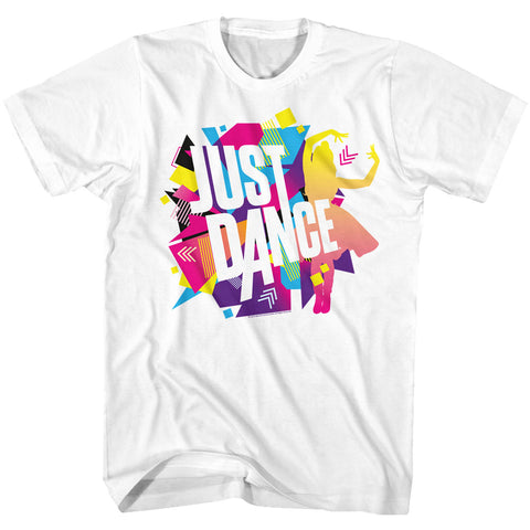Just Dance Special Order Color Explosion Adult S/S T-Shirt