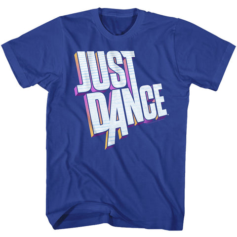 Just Dance Special Order Dimensional Logo Adult S/S T-Shirt