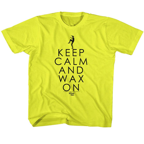 Karate Kid Special Order Keep Calm Youth S/S Tshirt
