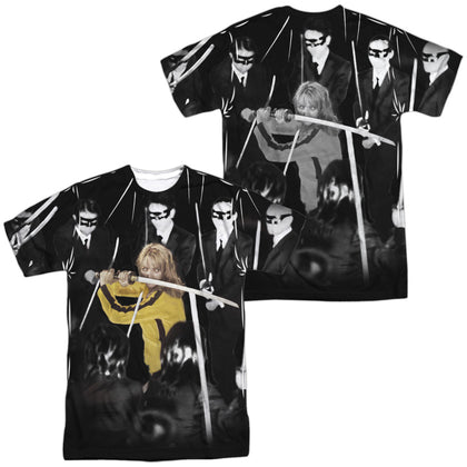 Kill Bill Crazy 88S (Front/Back Print) Men's Regular Fit Polyester SS T