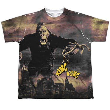 King Kong Kong In The City Youth Regular Fit Poly SS T