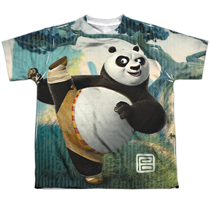 Kung Fu Panda Training Youth Regular Fit Poly SS T