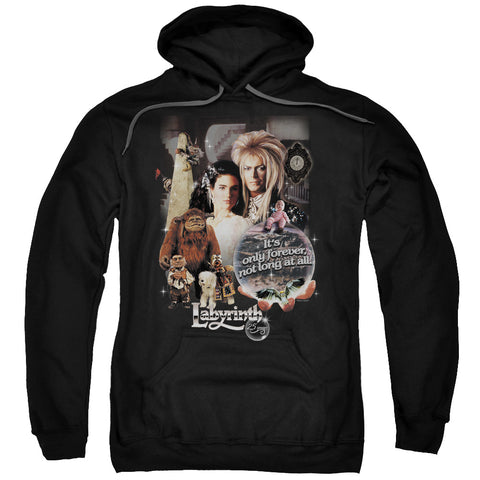 Labyrinth 25 Years Of Magic Men's Pull-Over 75 25 Poly Hoodie