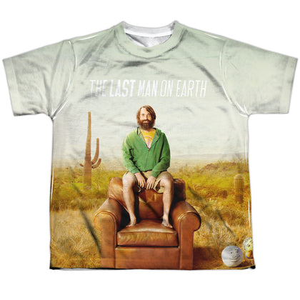 Last Man On Earth Last Man Youth Regular Fit Poly SS T