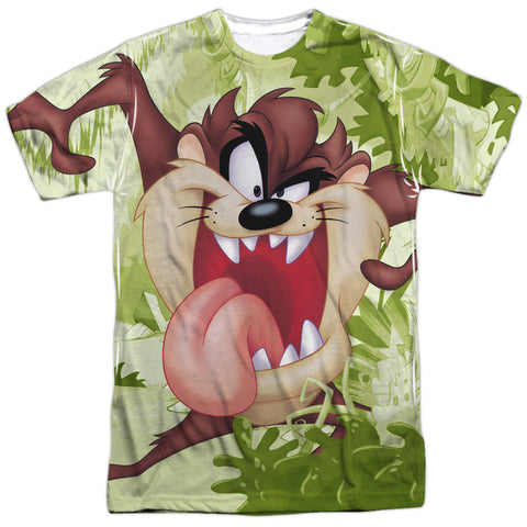 Looney Tunes Taz Men's Regular Fit Polyester SS T