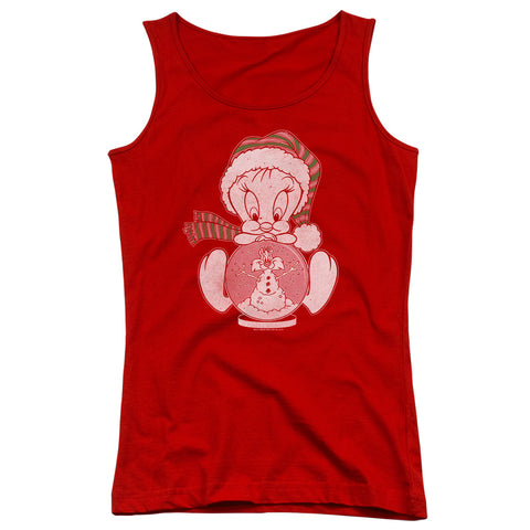 Looney Tunes Tweey Globe Junior's 100% Cotton Tank Top