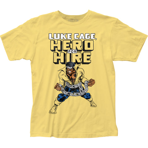 Luke Cage Hero for Hire fitted jersey tee - Men's - 100% Cotton