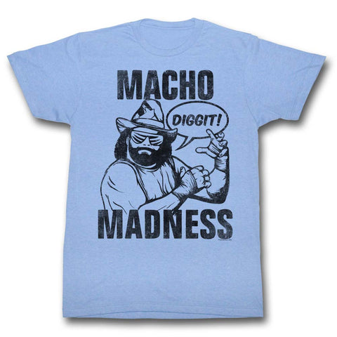 Macho Man Special Order Macho Adult S/S T-Shirt