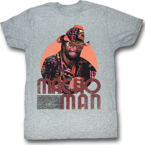Macho Man Special Order Mackin And Smackin Adult S/S T-Shirt