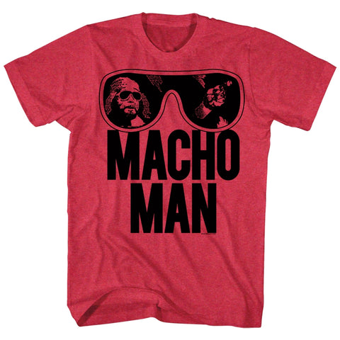 Macho Man Special Order Ooold School Adult S/S T-Shirt