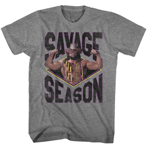 Macho Man Special Order Savage Season Adult S/S T-Shirt