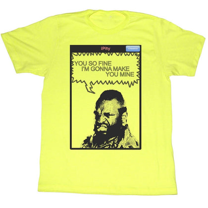 Mr. T Special Order You So Fine Adult S/S T-Shirt