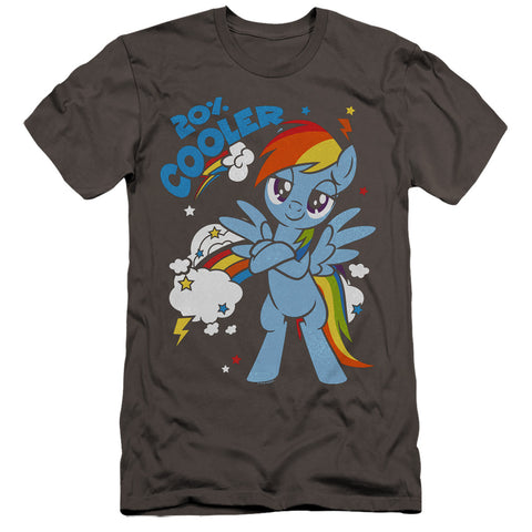 My Little Pony 20 Percent Cooler Men's Ultra-Soft 30/1 Cotton Slim SS T
