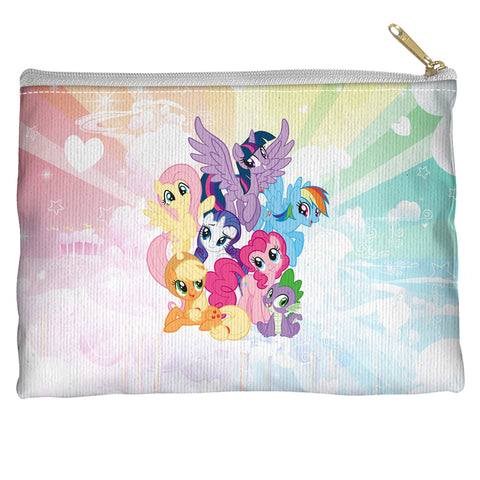 My Little Pony Pony Group Accessory Pouch Spun Polyester straight bottom