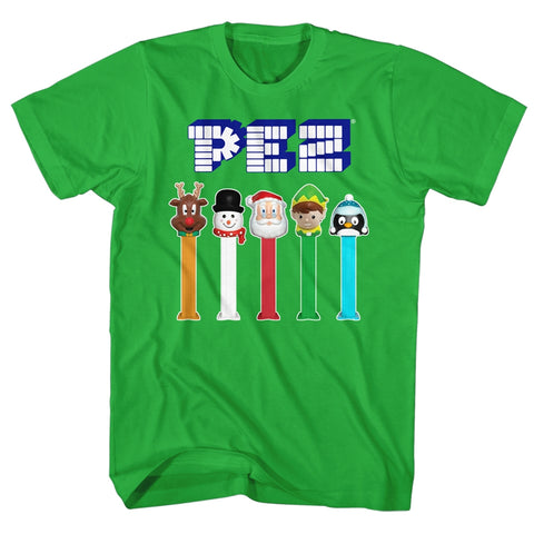 Pez Special Order Christmas Pez Adult S/S T-Shirt