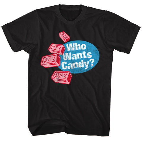 Pez Special Order Who Wants Candy Adult S/S T-Shirt