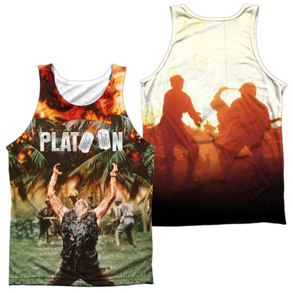 Platoon Key Art (Front/Back Print) Men's Regular Fit Polyester Tank Top