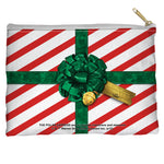 Polar Express Present Accessory Pouch Spun Polyester straight bottom