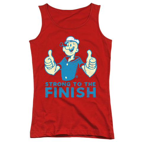 Popeye Strong Junior's 100% Cotton Tank Top