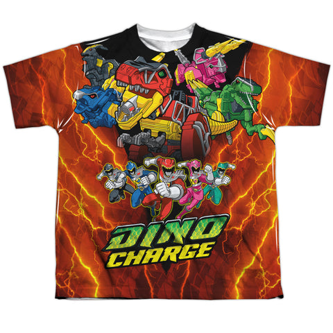 Power Rangers Zord Power Youth Regular Fit Poly SS T